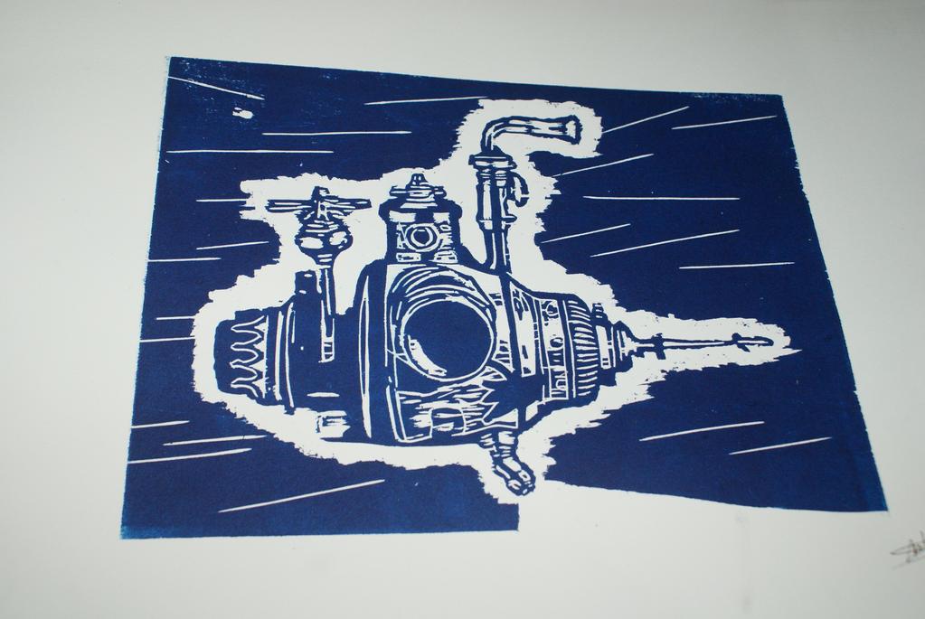 Submarine 2 - On paper by Katsmoka