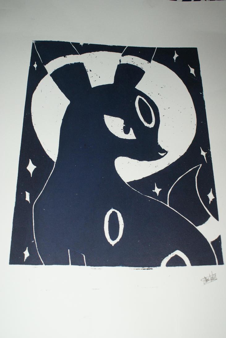 Noctali - On paper 1 by Katsmoka