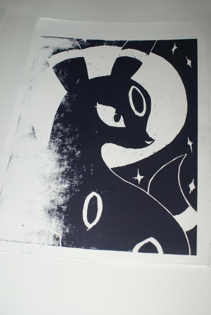 Noctali - On paper 2 by Katsmoka