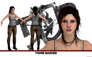 Tomb Raider Lara Croft model release by konradM96
