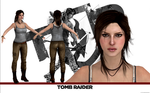 Tomb Raider Lara Croft model release