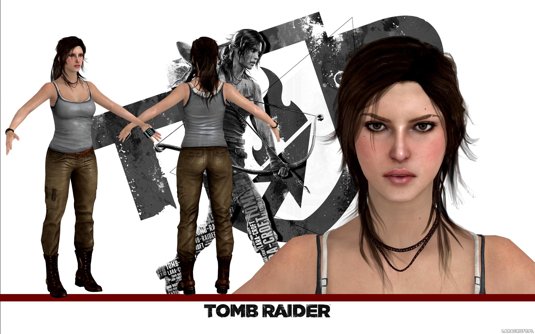 Tomb Raider Lara Croft Model Release By Konradm96 On Deviantart