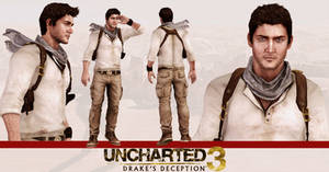 Uncharted 3 - Nathan Drake model release