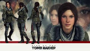 Lara Croft Rise of  the Tomb Raider model release