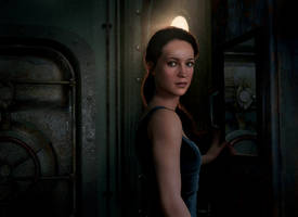 Alicia Vikander as Lara Croft in Tomb Raider Movie by konradM96