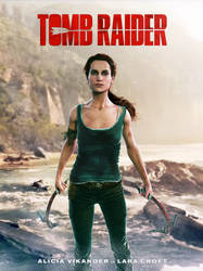 Tomb Raider ''Survivor'' Alicia Vikander by konradM96