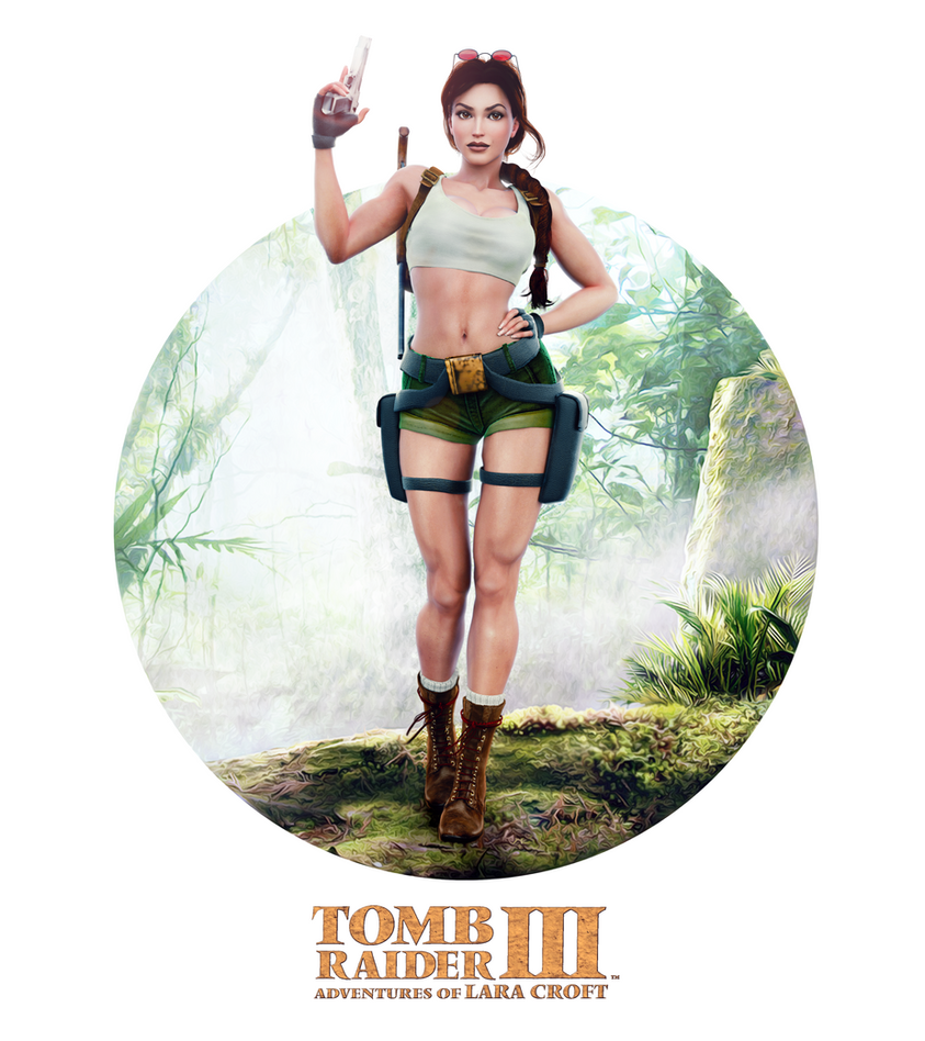 Classic TombRaider LaraCroft SouthPacific release by konradM96