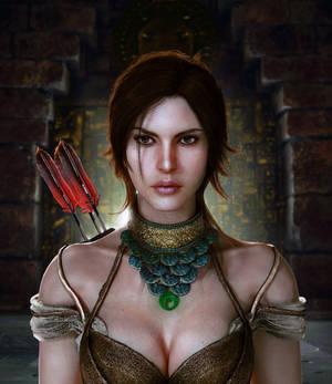 Shadow of the Tomb Raider Lara Croft portrait