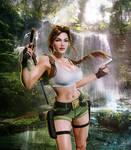 Tomb Raider III Lara Croft South Pacific by konradM96