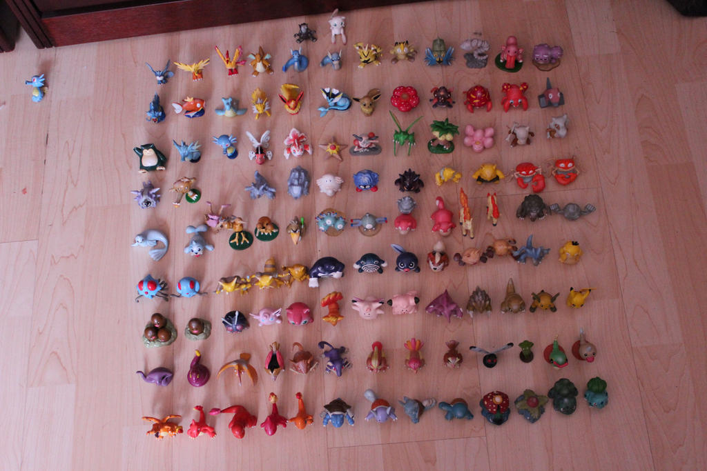 Pokemon Tomy Collection Update by ImNotParanoid