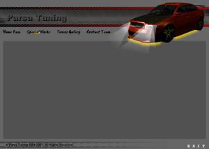 Car Tuning Website Design