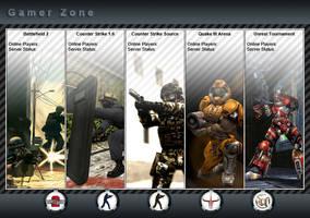 Online Games Website Design by masoudhaghi