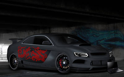 Audi A5 - Modified by masoudhaghi