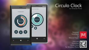 Circulo Clock by masoudhaghi