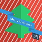 Merry Christmas Poster Flat Design