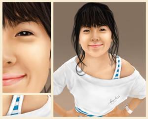 Keep Smiling, JiEun! - Detailed