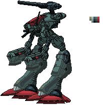 Robotech mech by Gardius