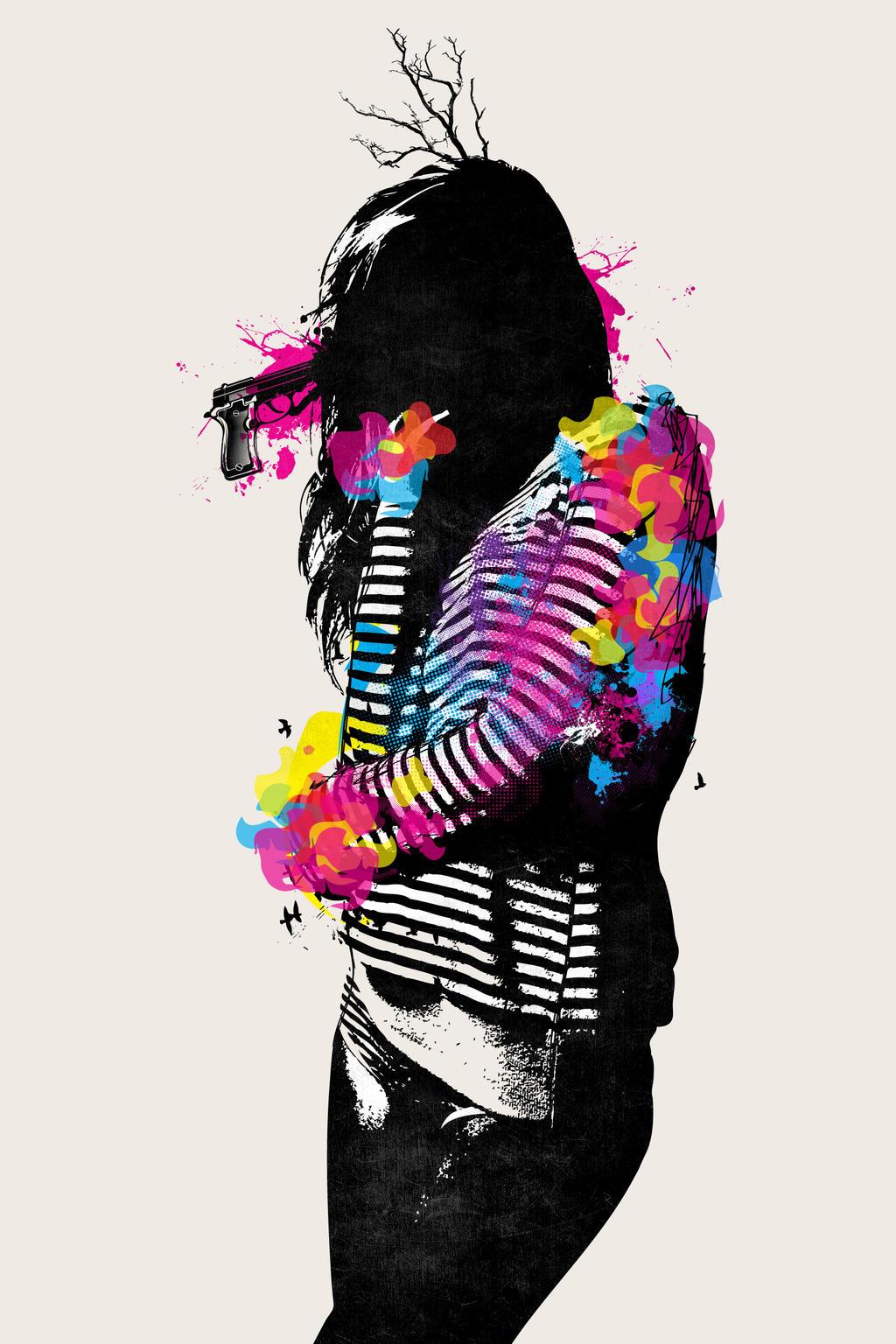 Beautiful Suicide by Tickedo