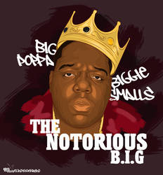 The notorious B.I.G vexel by elroyguerrero