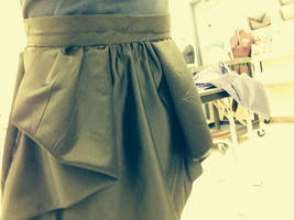 My skirt. (I made it)