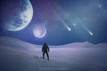 infinite of Universe by tariksoufi
