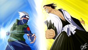 Kakashi vs Kenpachi