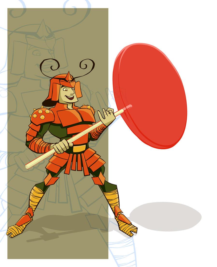Sweet Samurai by atarashiidesu