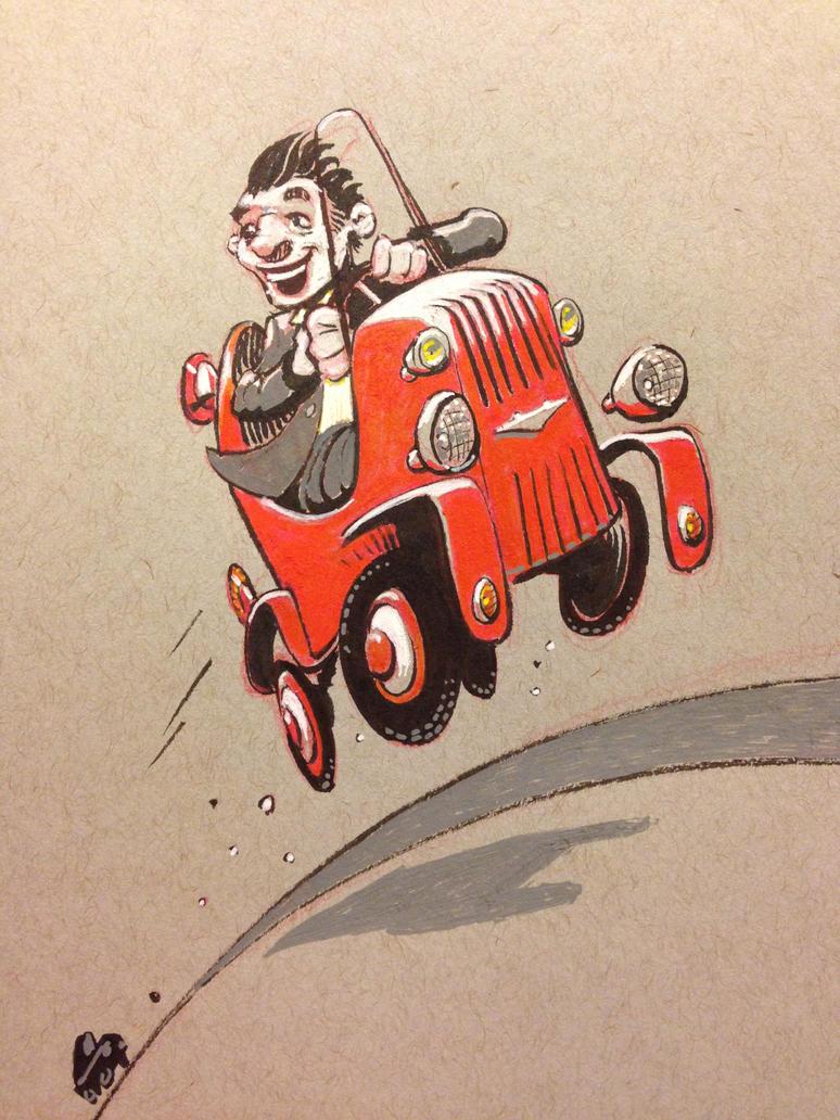 sketchbook doodle by atarashiidesu