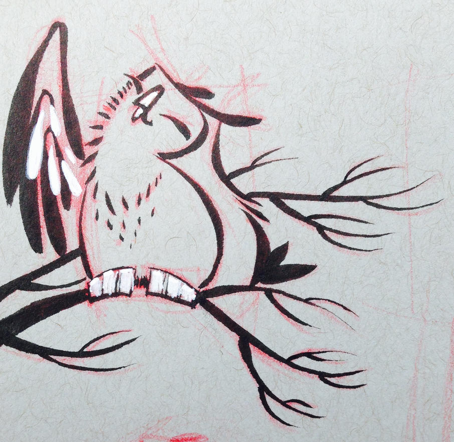 ImageSketchbook owl 2 by atarashiidesu