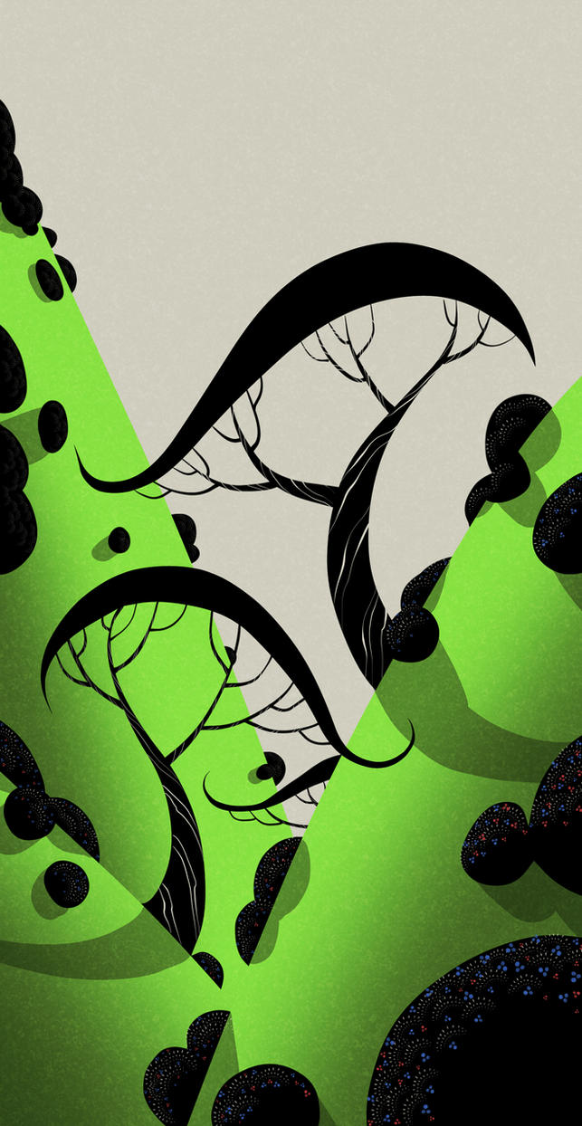 Slopes and trees by atarashiidesu