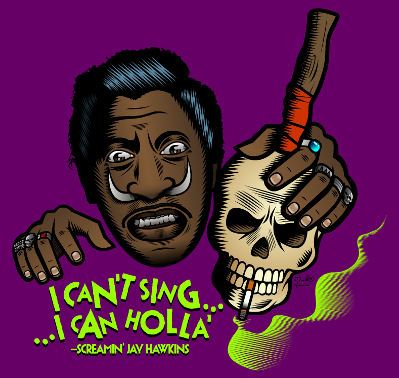 Screamin' Jay Hawkins by Nevski86