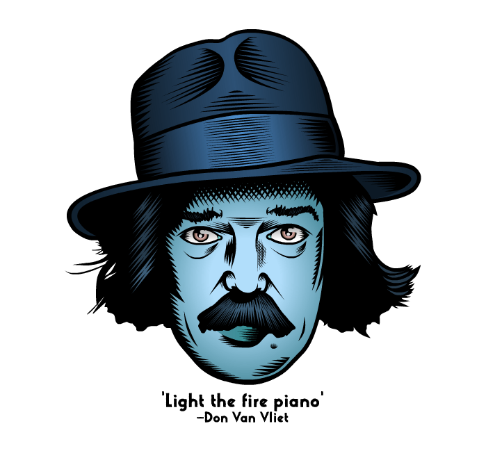 Light the fire piano (Captain Beefheart) by Nevski86