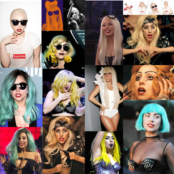 Lady GaGa Collage -BornThisWay