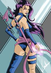 Psylocke by EtherealBlade4