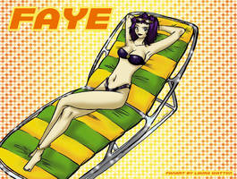 2002 :: Faye Valentine by PinkAppleJam