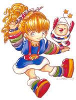 2007 :: Chibi Rainbow Brite by PinkAppleJam