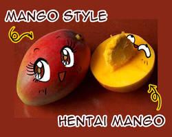 Mango Style and Hentai Mango by PinkAppleJam
