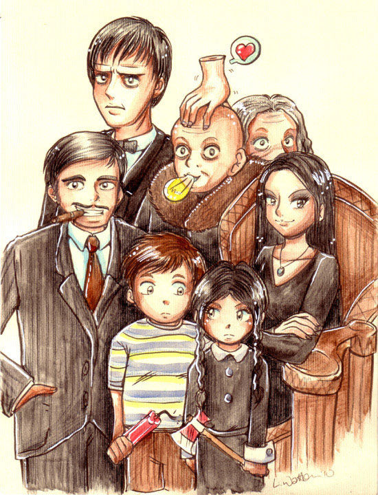 2010 :: The Addams Family by PinkAppleJam