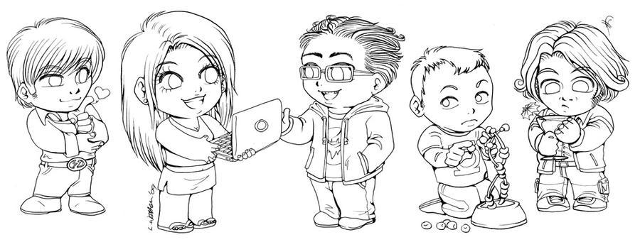 The Big Bang Theory as well  on happy birthday bazinga