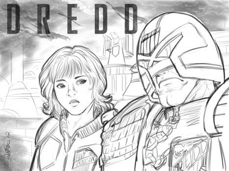 2012 :: Dredd sketch