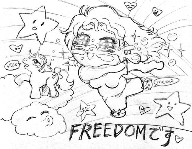 2007 :: Freedom by PinkAppleJam