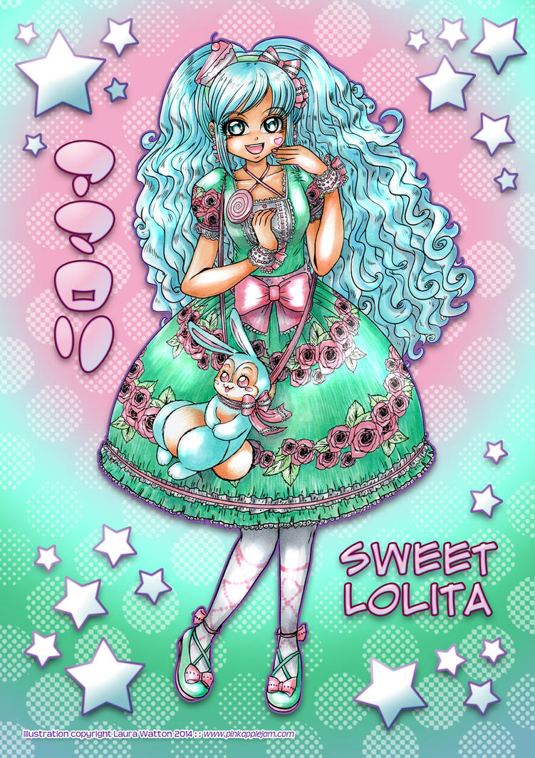 2014 :: Sweet Lolita by PinkAppleJam