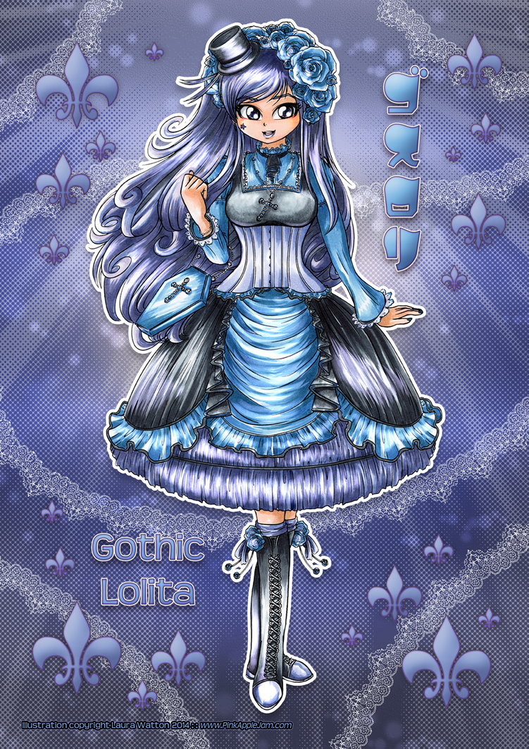 2014 :: Gothic Lolita by PinkAppleJam