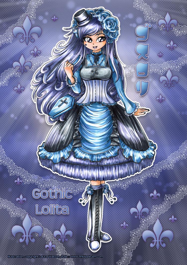 2014 :: Gothic Lolita by PinkAppleJam