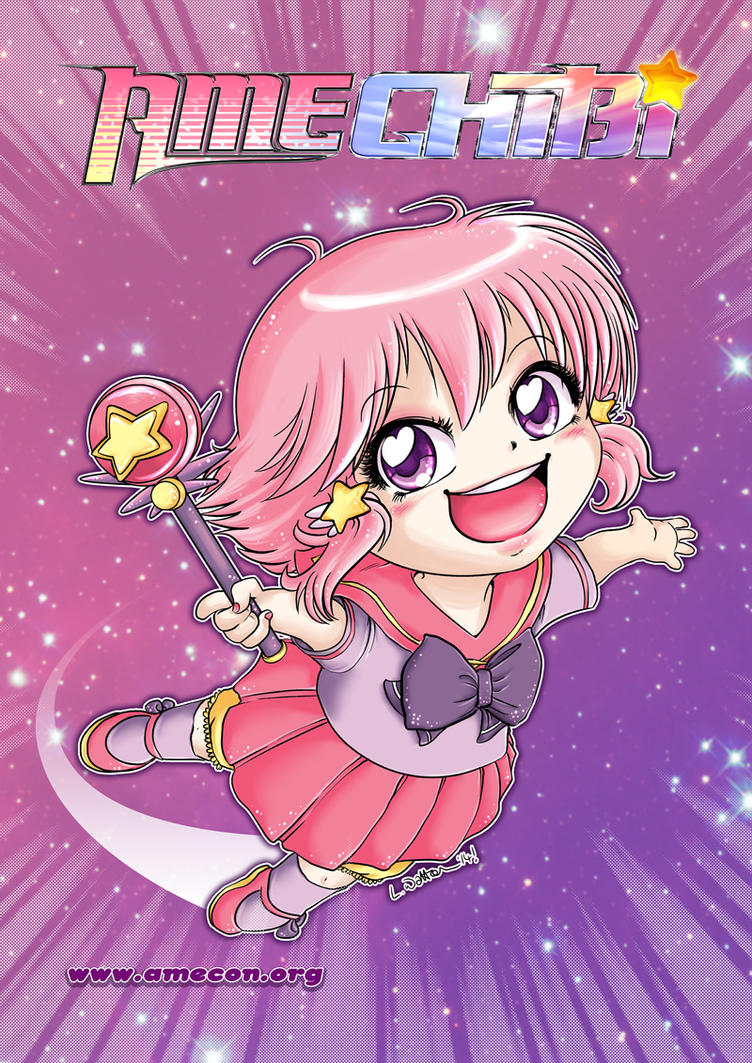 2015 :: AmeChibi by PinkAppleJam