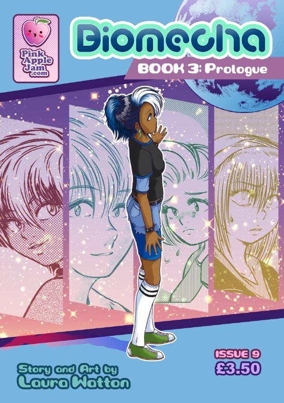 2018 :: Biomecha Book 3 Prologue cover by PinkAppleJam