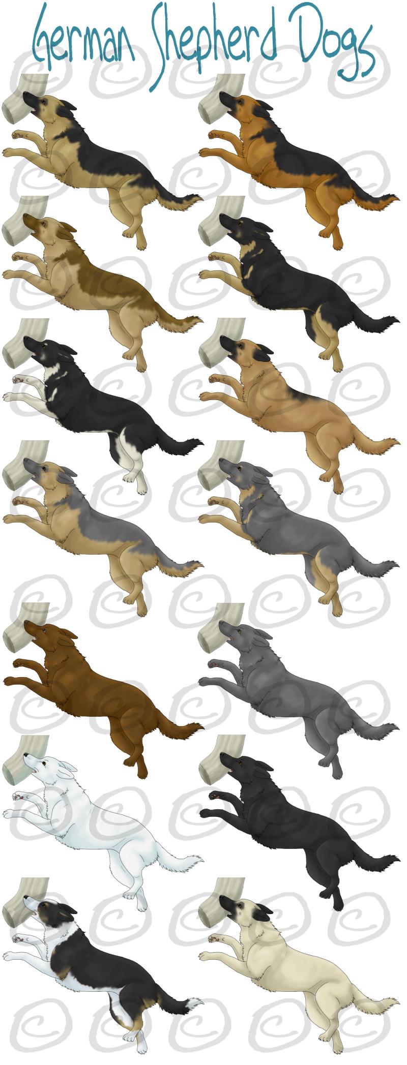 German Shepherd Dogsbydalmatianluver