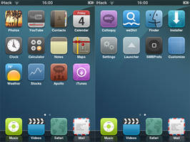 Clean Cut Theme by iTouchPhone-Group