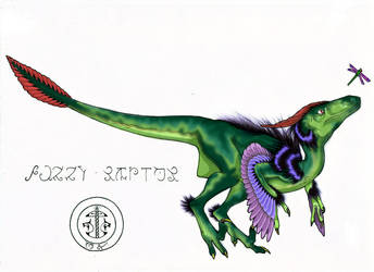 Fuzzy raptor colour