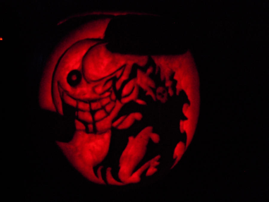 Soul Eater Pumpkin by Ciaxlia